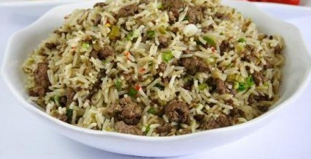 Arabian Rice with kidneys and livers