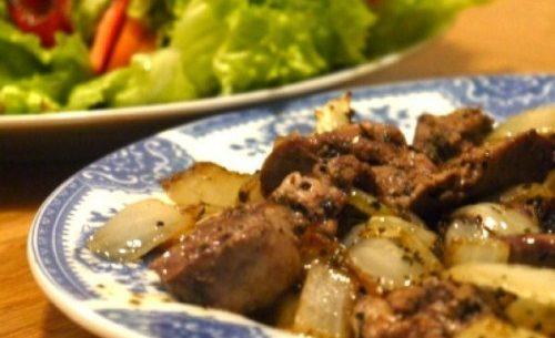 Alexandrian Spicy Beef Livers Recipe