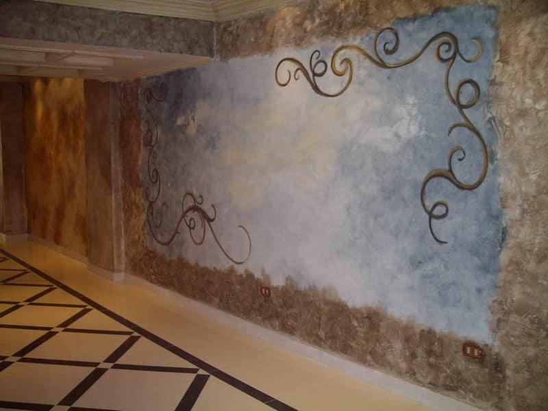 Paint your walls with Stencil technique