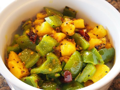 Indian Aloo Shimla Mirch