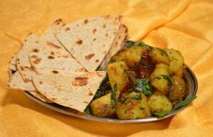 Indian Aloo Methi Recipe