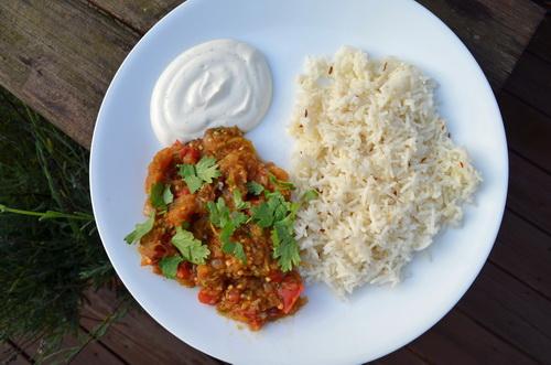 Indian Dish Baingan Bharta Recipe