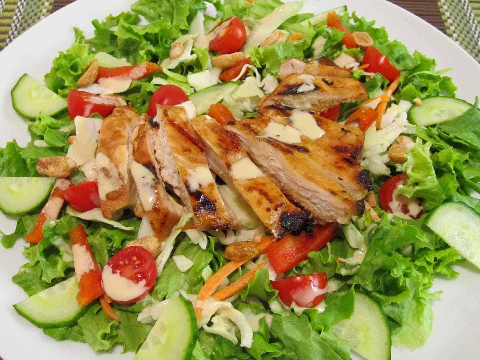 Bangladeshi Chicken Salad