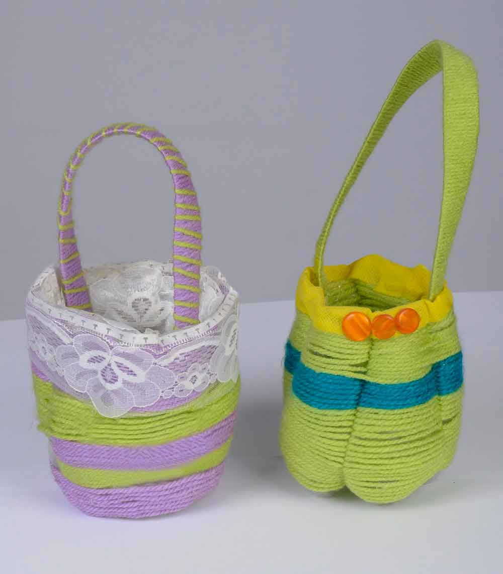 Creative Ways of Making Mini-Baskets from Plastic Bottles