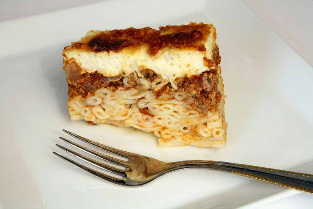 Homemade Egyptian Macaroni Bechamel Recipe