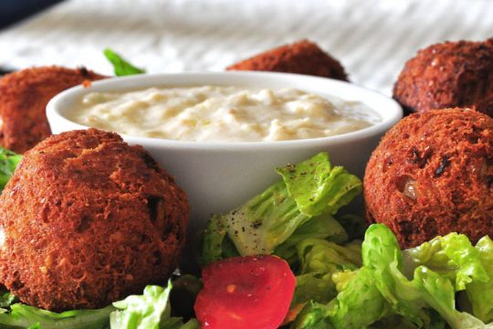 Fried Falafel Recipe