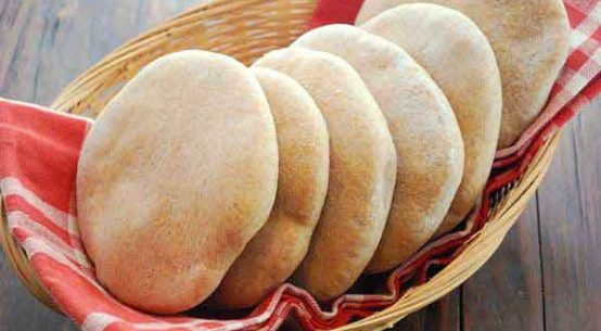 Homemade Arabian Pita Bread Recipe