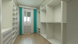 How to design the dressing room?