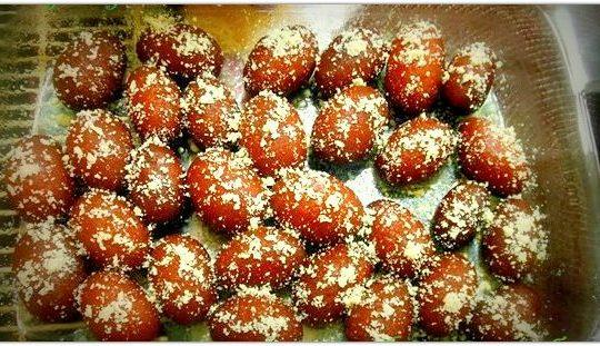 Kalojam Sweet Dessert of Bangladesh