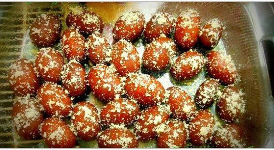 Kalojam Sweet Dessert of Bangladesh