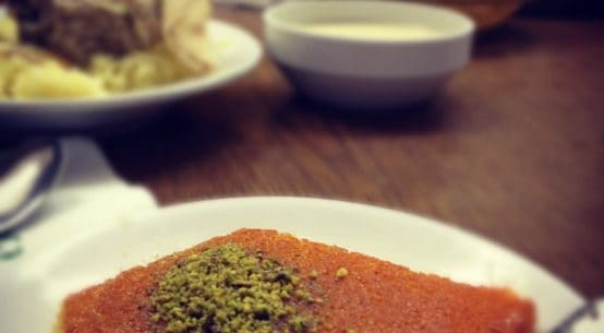 2 Recipes to Make Soft Kanafeh Without Kunafa Dough