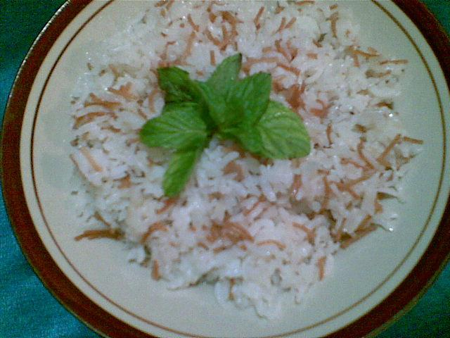 Lebanese Rice with Vermicelli Recipe