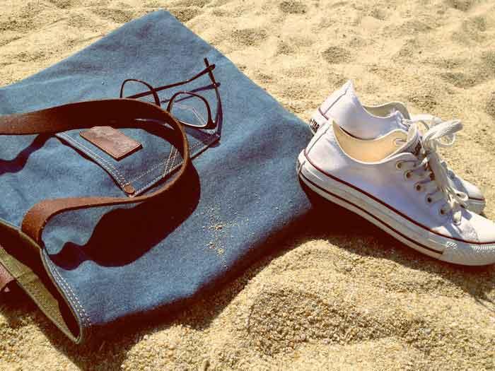 Making Fashion Jeans Bag