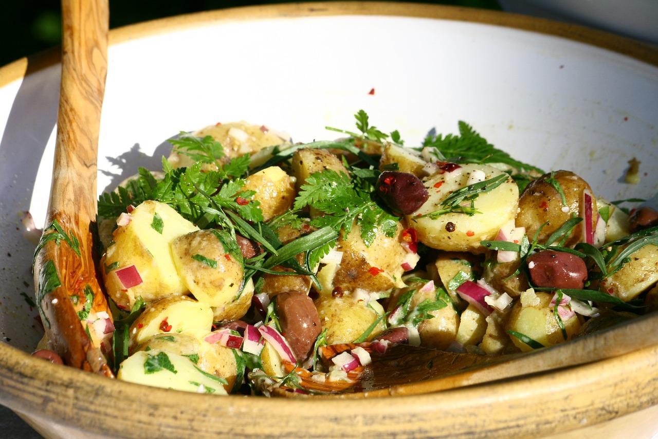 2 Classic Potato Salad Recipes