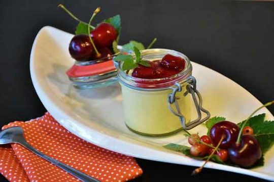 Pudding with Starch Recipe