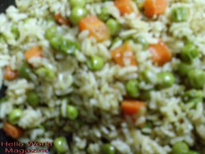Rice with Vegetables Recipe