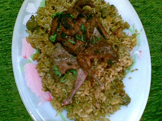 Rice with Chicken Livers and Gizzards Recipe