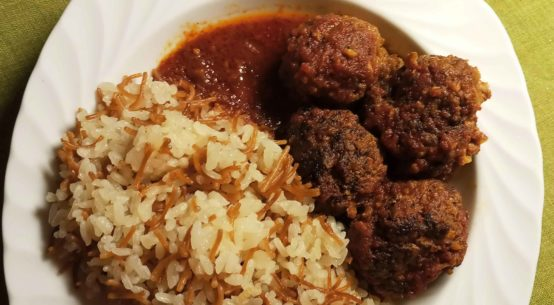 Turkish Kofta Dawood Basha Recipe (Meatballs With Tomato Sauce Recipe)