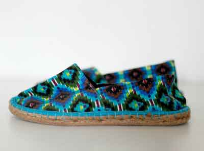 How to Make Espadrille Shoes