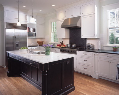White Color is the Key Towards a Modern Kitchen