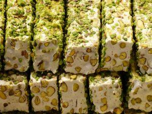 Mawlid Sweets with Pistachio