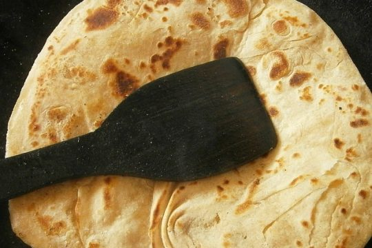 Delicious Indian Chapati Bread