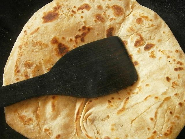Delicious Indian Chapati Bread