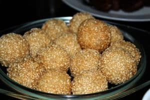 Sesame for Mawlid Sweets
