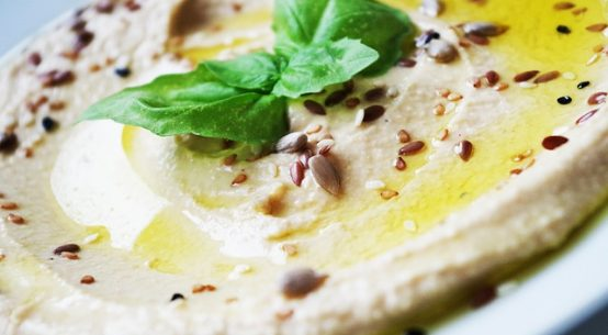 Hummus with Tahini Recipe (Mashed Chickpeas with Tahini Recipe)