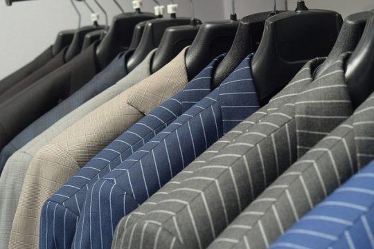 This Season's Suit…Bold Lines…Different Details