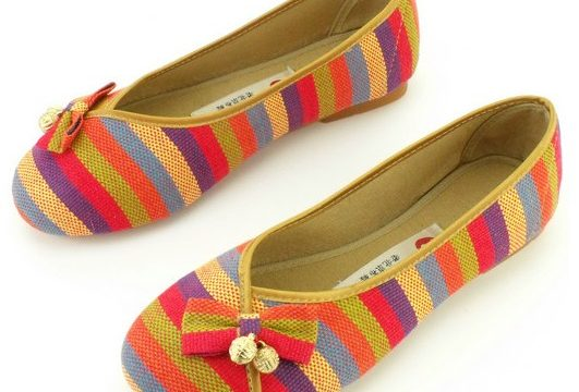 Cloth Warpped Shoes