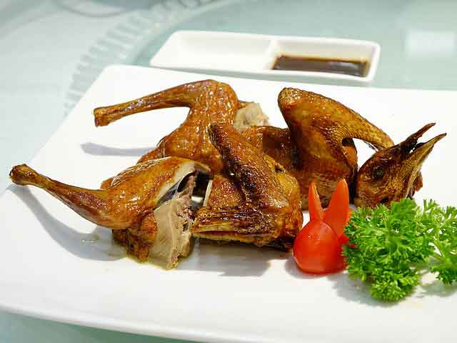 Egyptian Roasted Pigeon with Freekeh Recipe