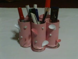 How To Create A Pencil Holder Or Organizer