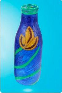 Vase with colors
