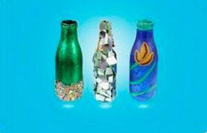 Different Ways to Create a Nice Vase from Bottle