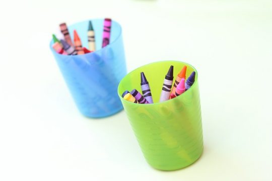 Melt Those Crayons into Colorful, Scented Candles!