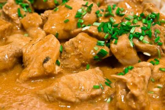 Spicy Indian Butter Chicken with Herb Recipe
