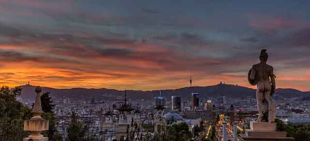 Travel to The Sunny Charming Barcelona City in Spain