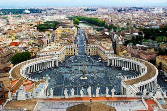 Visit Peaceful Vatican City in Rome