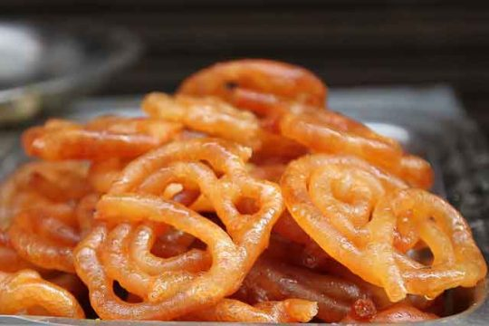 Homemade Indian Jalebi Recipe - Sweet Veg Recipes of India