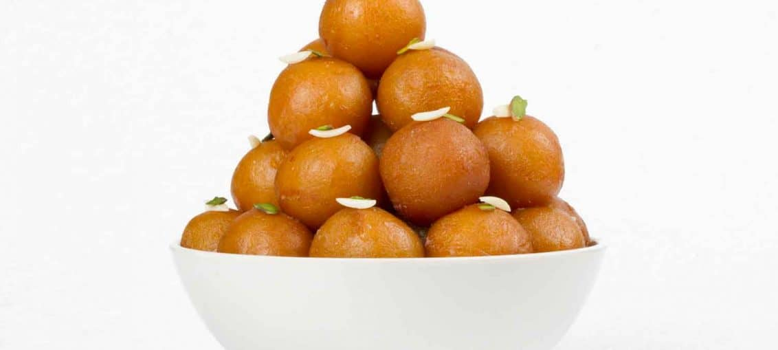 Homemade Indian Gulab Jamun Recipe - Sweet Veg Recipes of India