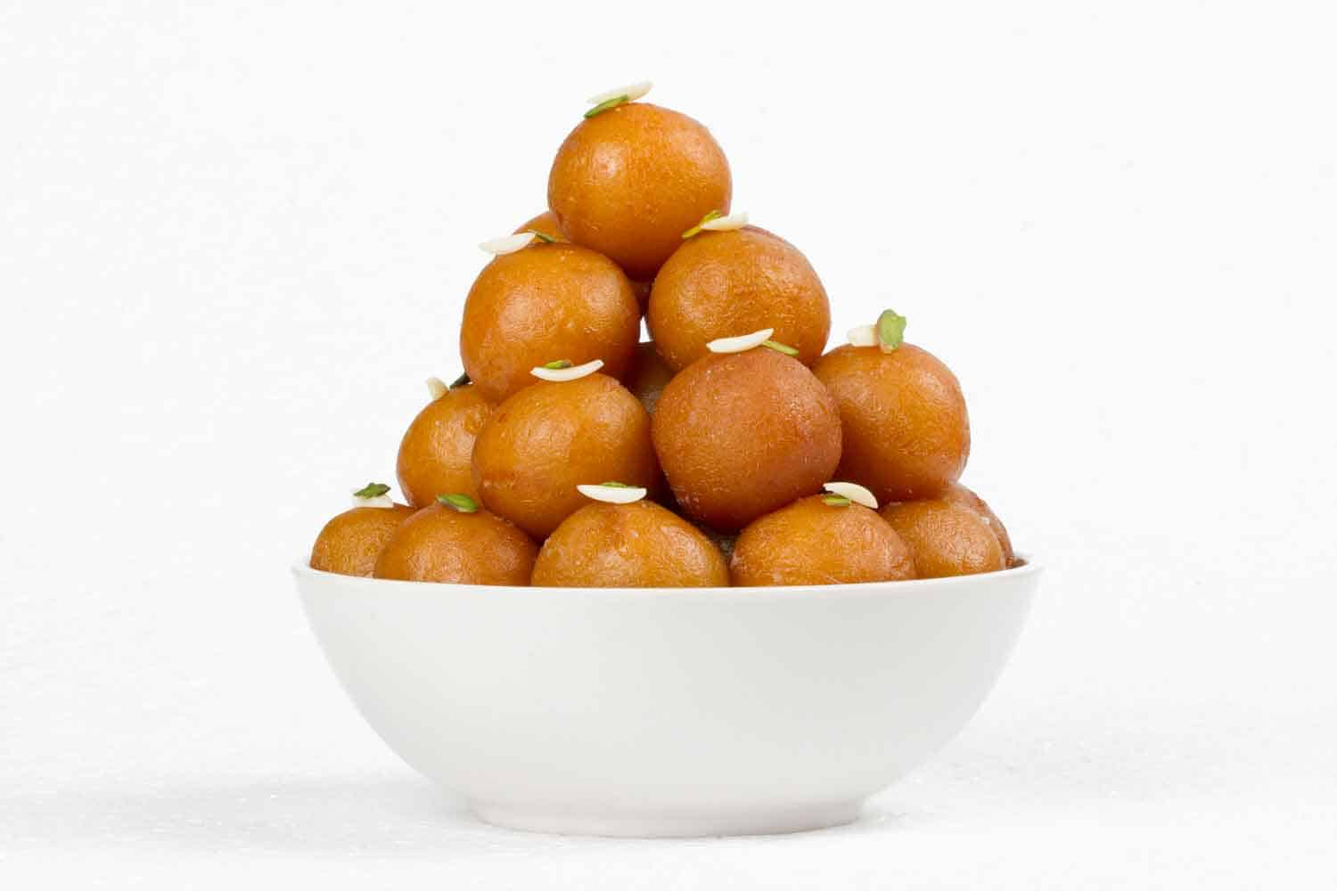 Homemade Indian Gulab Jamun Recipe - Sweet Veg Recipes of India