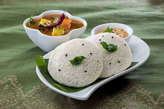 Homemade Indian Idli Recipe