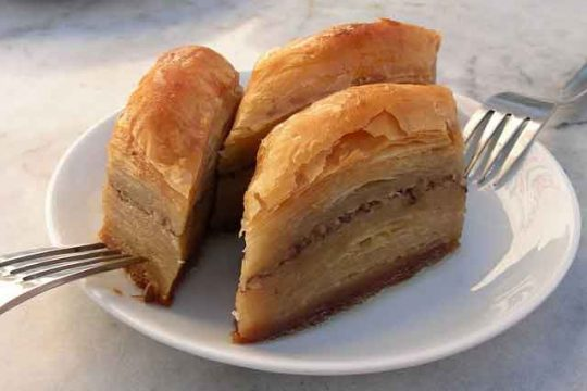 Homemade Baklava with Pistachios and Walnuts Recipe