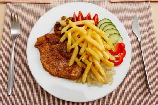 Crispy Fries Recipe for Diet
