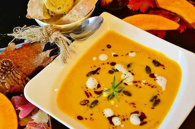 Creamy Squash Soup with Herbs Recipe