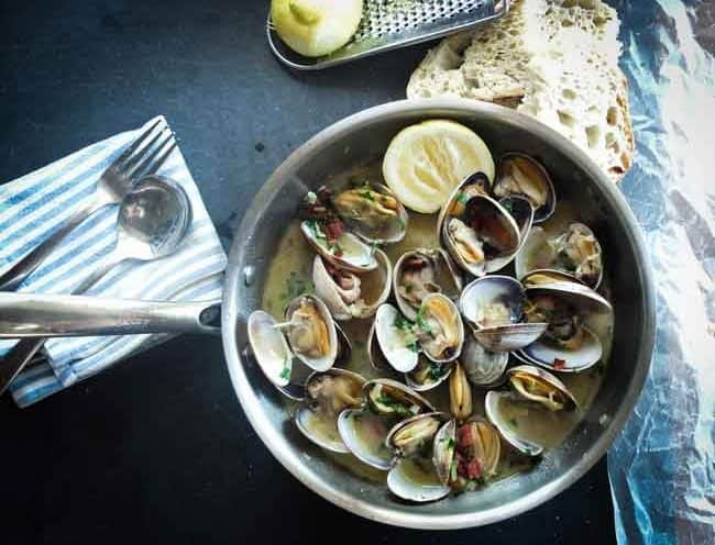 Garlic Seafood Soup Recipe