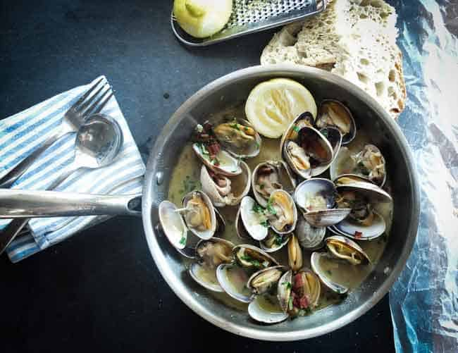 Garlic Seafood Soup Recipe