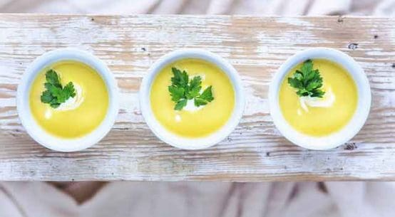 Potato soup is easy for Ramadan