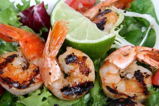 How to Cook Spicy Grilled Shrimp